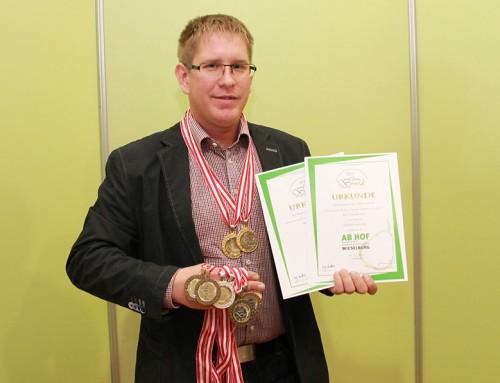 Doppel-Gold für Filipps Bio-Apfelsaft