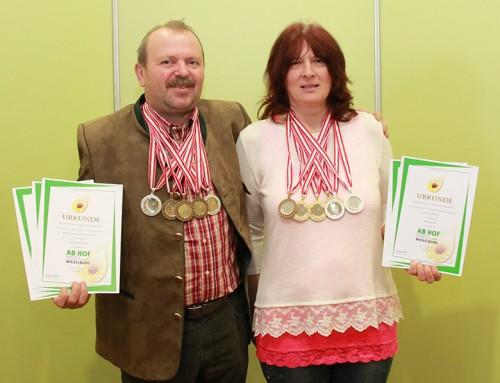 Medaillenregen für Biohof Erwin Schramm