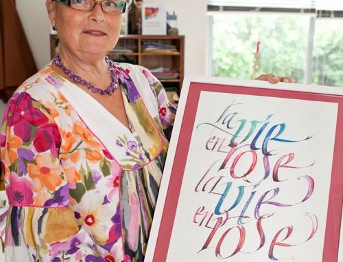 Grande Dame der Schreibkunst